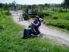 ...prípadne dojčiť v kočíku :-) po dlhej prechádzke...