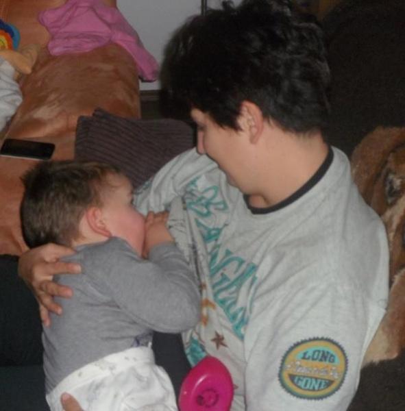 Dojčenie potrebuje aj staršie dieťatko