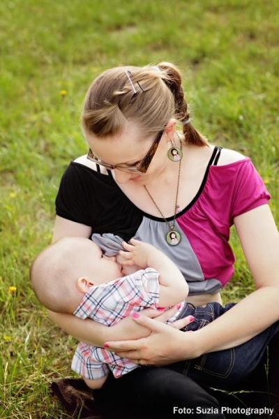 Na fotografii sa dojčí 14-mesačný synček