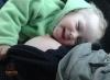 Šťastné dojčené dieťatko
