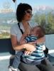 Dojčenie na lanovke