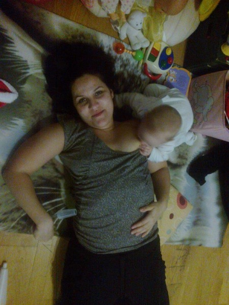 Bábätká niekedy vyzlečú maminu a nadojčia sa aj samé :D