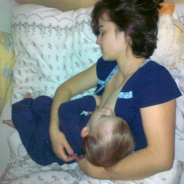 Dojčenie plní aj funkciu zaspávania