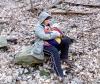 Dojčenie v prírode v zimnom období